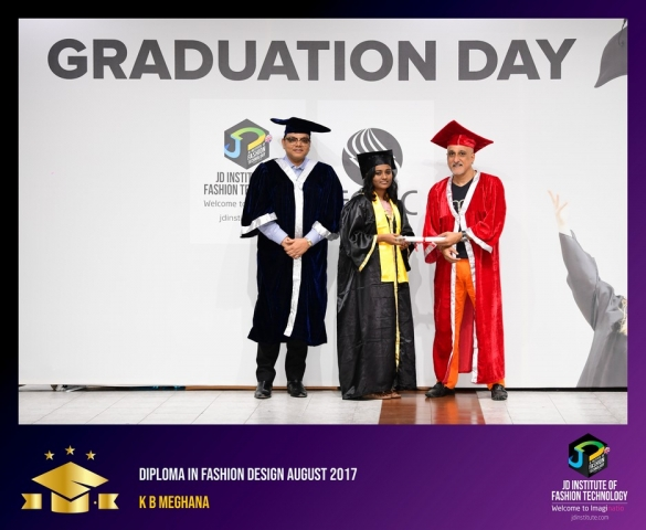 JD Institute Holds Graduation Ceremony for its Diploma and Post Graduate Students Diploma In Fashion Design 7