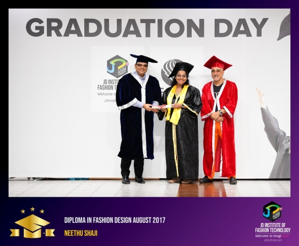 JD Institute Holds Graduation Ceremony for its Diploma and Post Graduate Students Diploma In Fashion Design 8