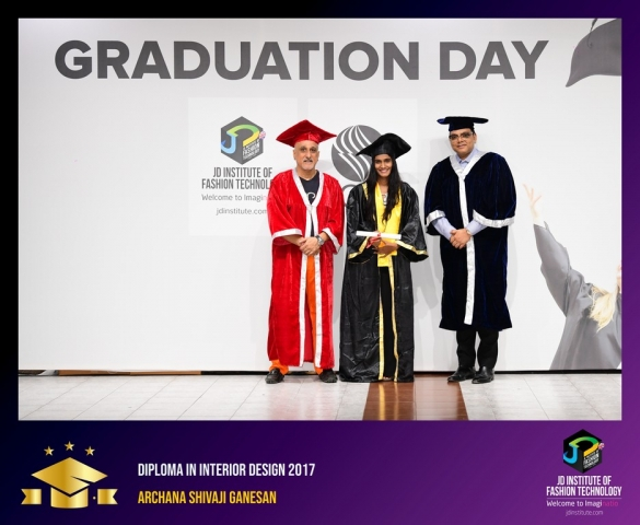 JD Institute Holds Graduation Ceremony for its Diploma and Post Graduate Students Diploma In Interior Design 10