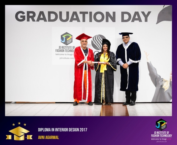 JD Institute Holds Graduation Ceremony for its Diploma and Post Graduate Students Diploma In Interior Design 11