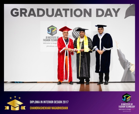 JD Institute Holds Graduation Ceremony for its Diploma and Post Graduate Students Diploma In Interior Design 12