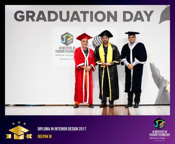 JD Institute Holds Graduation Ceremony for its Diploma and Post Graduate Students Diploma In Interior Design 14