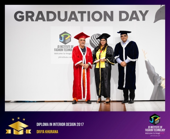 JD Institute Holds Graduation Ceremony for its Diploma and Post Graduate Students Diploma In Interior Design 15