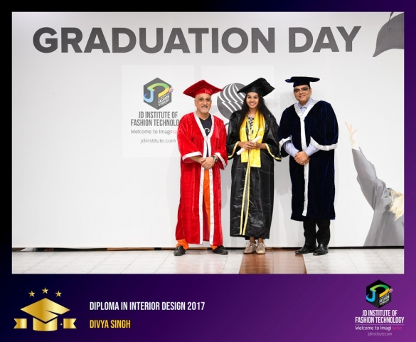 JD Institute Holds Graduation Ceremony for its Diploma and Post Graduate Students Diploma In Interior Design 16