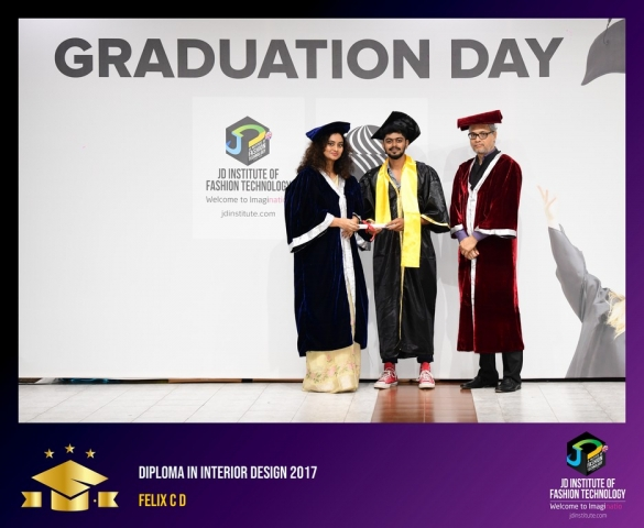 JD Institute Holds Graduation Ceremony for its Diploma and Post Graduate Students Diploma In Interior Design 17