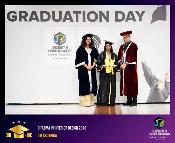 JD Institute Holds Graduation Ceremony for its Diploma and Post Graduate Students Diploma In Interior Design 18