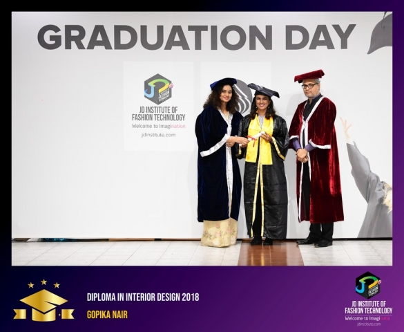 JD Institute Holds Graduation Ceremony for its Diploma and Post Graduate Students Diploma In Interior Design 19