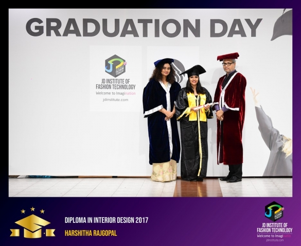 JD Institute Holds Graduation Ceremony for its Diploma and Post Graduate Students Diploma In Interior Design 21