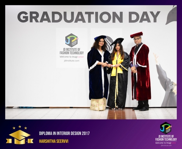 JD Institute Holds Graduation Ceremony for its Diploma and Post Graduate Students Diploma In Interior Design 22