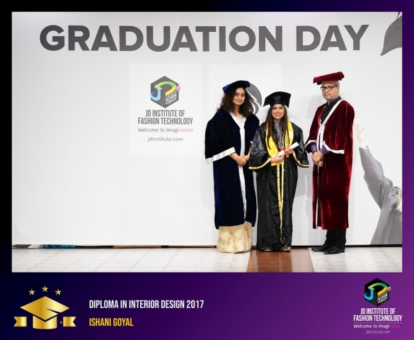 JD Institute Holds Graduation Ceremony for its Diploma and Post Graduate Students Diploma In Interior Design 23
