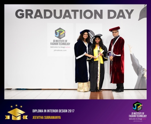 JD Institute Holds Graduation Ceremony for its Diploma and Post Graduate Students Diploma In Interior Design 24