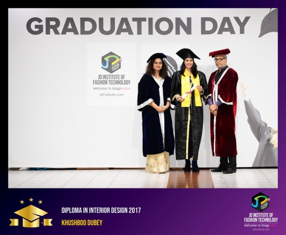 JD Institute Holds Graduation Ceremony for its Diploma and Post Graduate Students Diploma In Interior Design 25