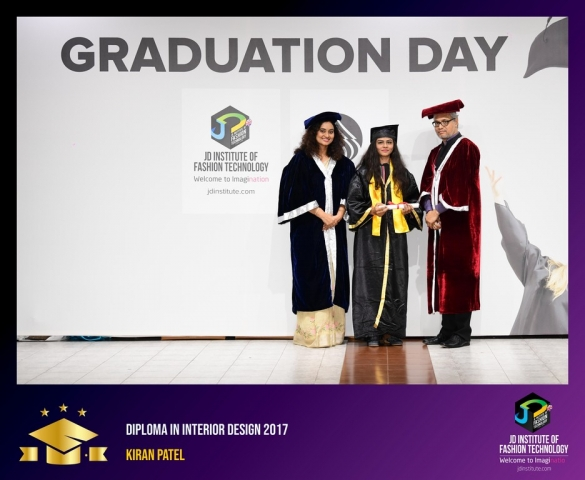 JD Institute Holds Graduation Ceremony for its Diploma and Post Graduate Students Diploma In Interior Design 26