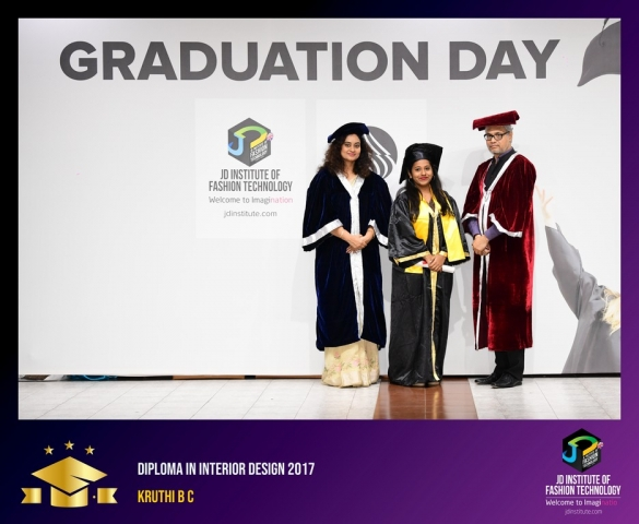 JD Institute Holds Graduation Ceremony for its Diploma and Post Graduate Students Diploma In Interior Design 27