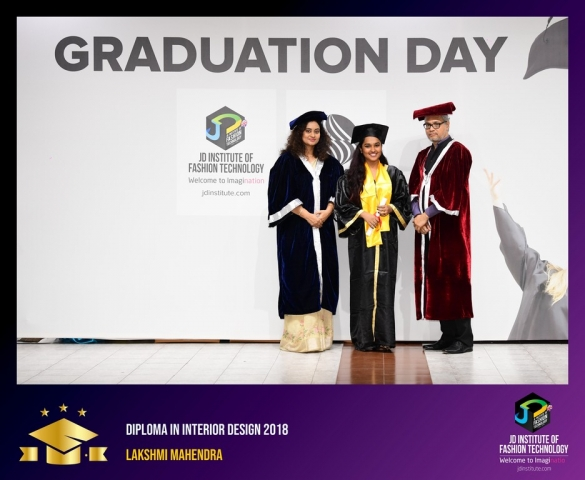 JD Institute Holds Graduation Ceremony for its Diploma and Post Graduate Students Diploma In Interior Design 28