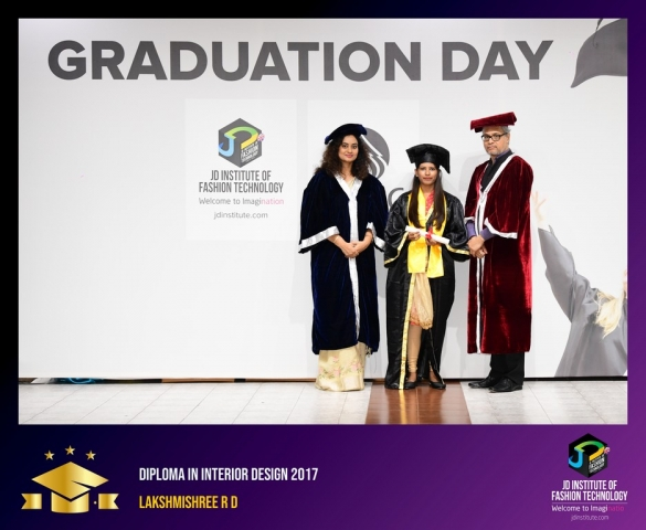 JD Institute Holds Graduation Ceremony for its Diploma and Post Graduate Students Diploma In Interior Design 29