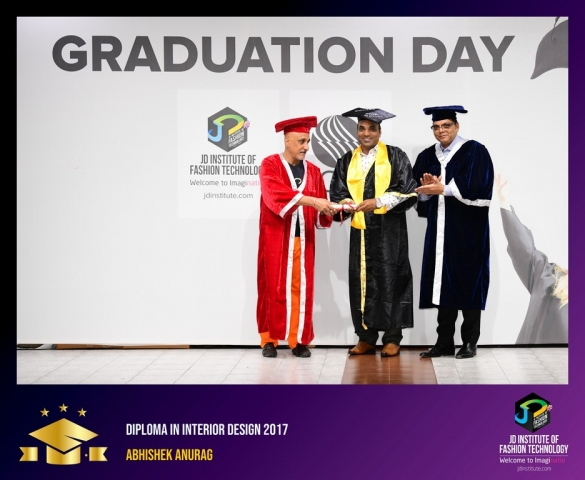 JD Institute Holds Graduation Ceremony for its Diploma and Post Graduate Students Diploma In Interior Design 3