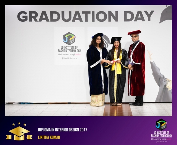 JD Institute Holds Graduation Ceremony for its Diploma and Post Graduate Students Diploma In Interior Design 30