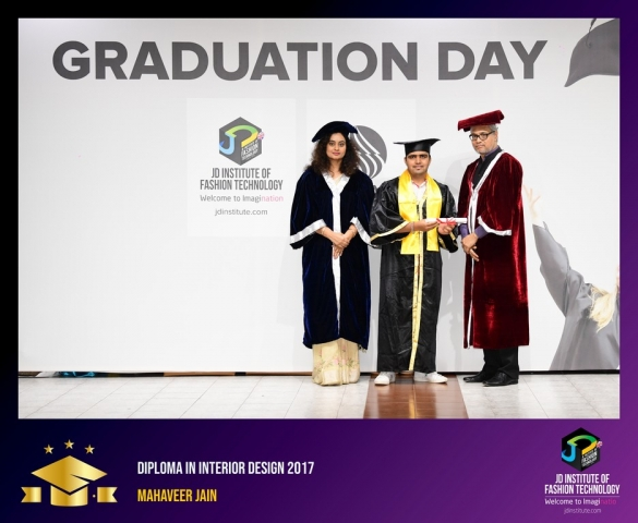 JD Institute Holds Graduation Ceremony for its Diploma and Post Graduate Students Diploma In Interior Design 31
