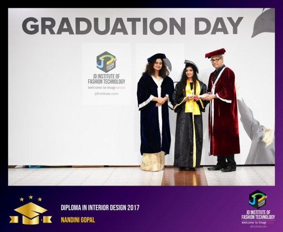JD Institute Holds Graduation Ceremony for its Diploma and Post Graduate Students Diploma In Interior Design 33