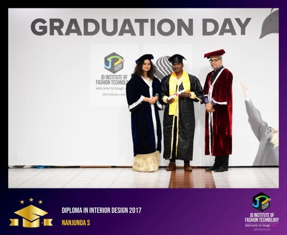 JD Institute Holds Graduation Ceremony for its Diploma and Post Graduate Students Diploma In Interior Design 34