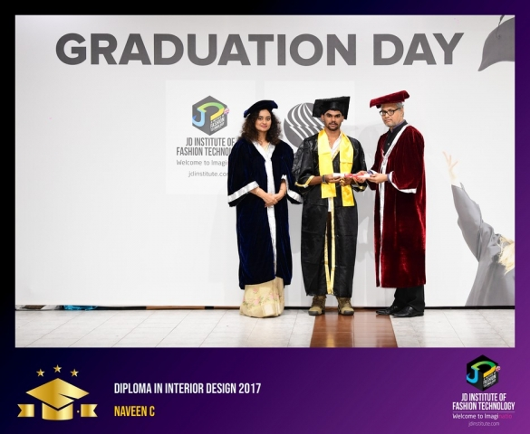 JD Institute Holds Graduation Ceremony for its Diploma and Post Graduate Students Diploma In Interior Design 35