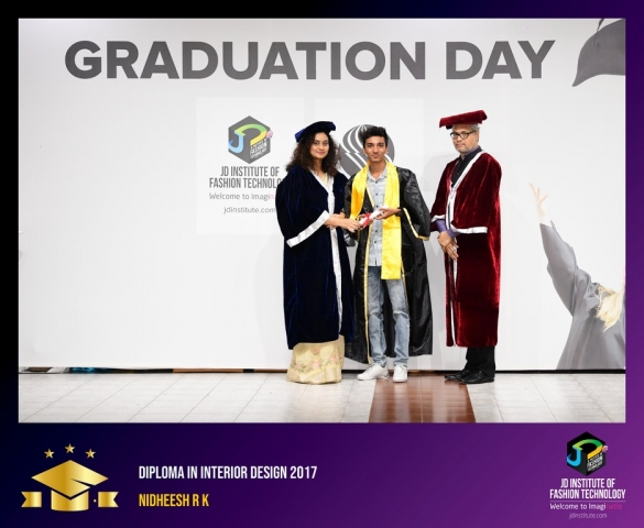JD Institute Holds Graduation Ceremony for its Diploma and Post Graduate Students Diploma In Interior Design 36