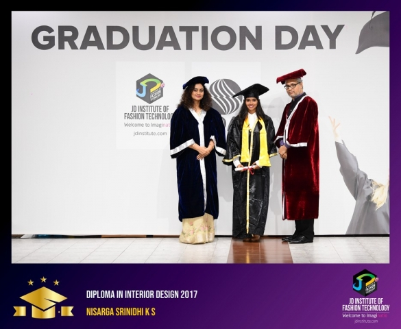 JD Institute Holds Graduation Ceremony for its Diploma and Post Graduate Students Diploma In Interior Design 37