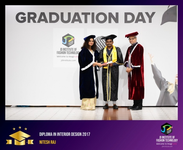 JD Institute Holds Graduation Ceremony for its Diploma and Post Graduate Students Diploma In Interior Design 38