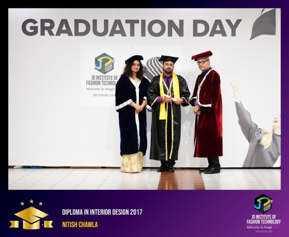 JD Institute Holds Graduation Ceremony for its Diploma and Post Graduate Students Diploma In Interior Design 39