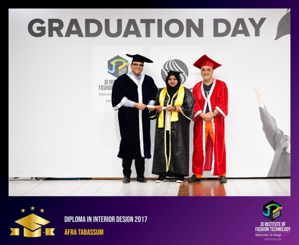 JD Institute Holds Graduation Ceremony for its Diploma and Post Graduate Students Diploma In Interior Design 4