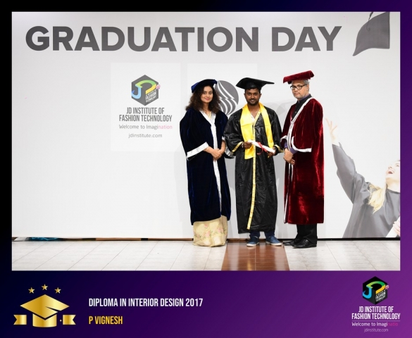 JD Institute Holds Graduation Ceremony for its Diploma and Post Graduate Students Diploma In Interior Design 40