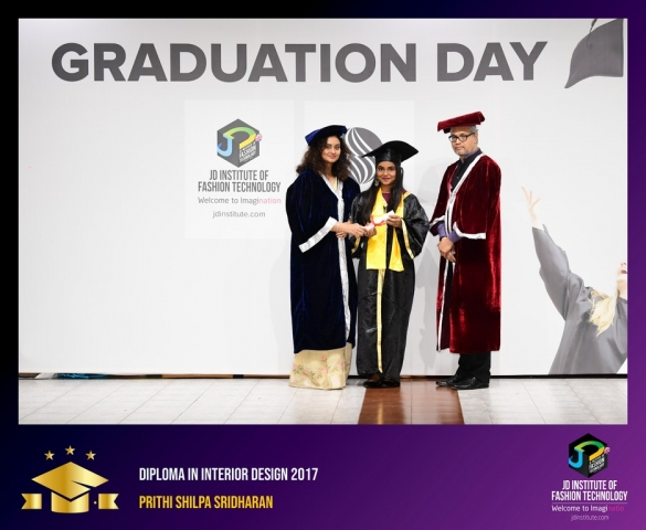 JD Institute Holds Graduation Ceremony for its Diploma and Post Graduate Students Diploma In Interior Design 41
