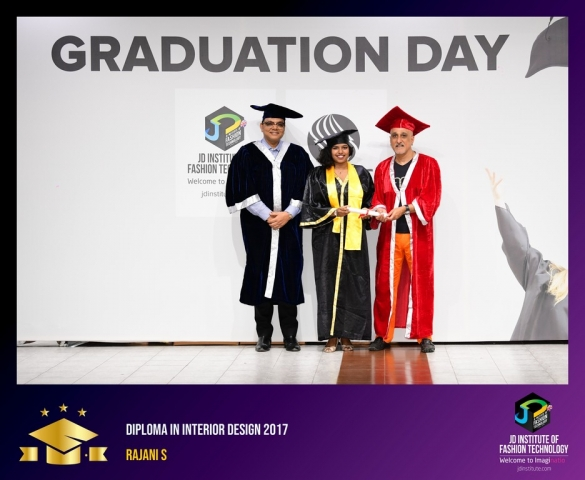 JD Institute Holds Graduation Ceremony for its Diploma and Post Graduate Students Diploma In Interior Design 42