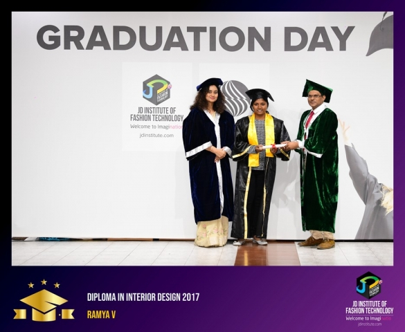 JD Institute Holds Graduation Ceremony for its Diploma and Post Graduate Students Diploma In Interior Design 43