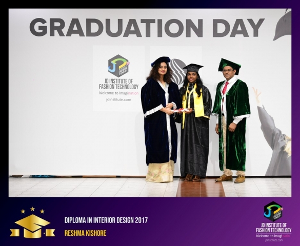 JD Institute Holds Graduation Ceremony for its Diploma and Post Graduate Students Diploma In Interior Design 44