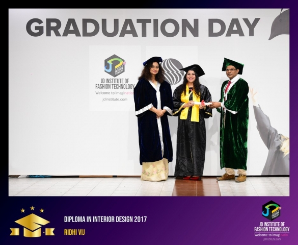 JD Institute Holds Graduation Ceremony for its Diploma and Post Graduate Students Diploma In Interior Design 45