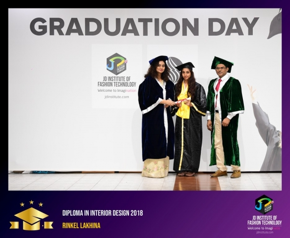 JD Institute Holds Graduation Ceremony for its Diploma and Post Graduate Students Diploma In Interior Design 46