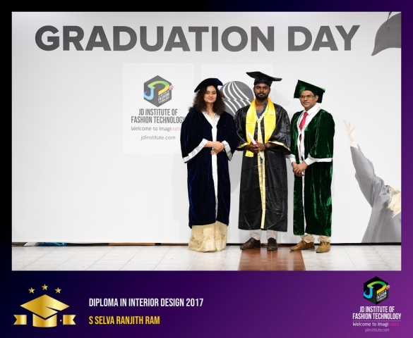 JD Institute Holds Graduation Ceremony for its Diploma and Post Graduate Students Diploma In Interior Design 47