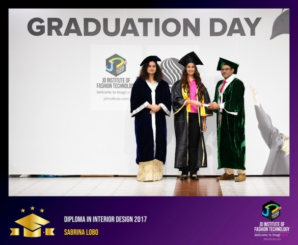 JD Institute Holds Graduation Ceremony for its Diploma and Post Graduate Students Diploma In Interior Design 48