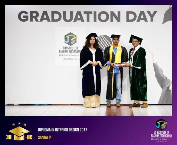 JD Institute Holds Graduation Ceremony for its Diploma and Post Graduate Students Diploma In Interior Design 49