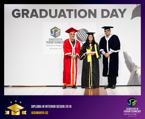 JD Institute Holds Graduation Ceremony for its Diploma and Post Graduate Students Diploma In Interior Design 5