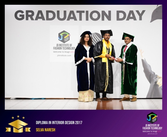 JD Institute Holds Graduation Ceremony for its Diploma and Post Graduate Students Diploma In Interior Design 50