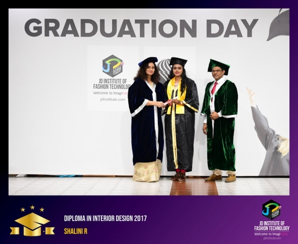 JD Institute Holds Graduation Ceremony for its Diploma and Post Graduate Students Diploma In Interior Design 51