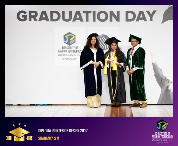 JD Institute Holds Graduation Ceremony for its Diploma and Post Graduate Students Diploma In Interior Design 52