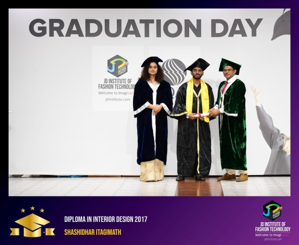 JD Institute Holds Graduation Ceremony for its Diploma and Post Graduate Students Diploma In Interior Design 53