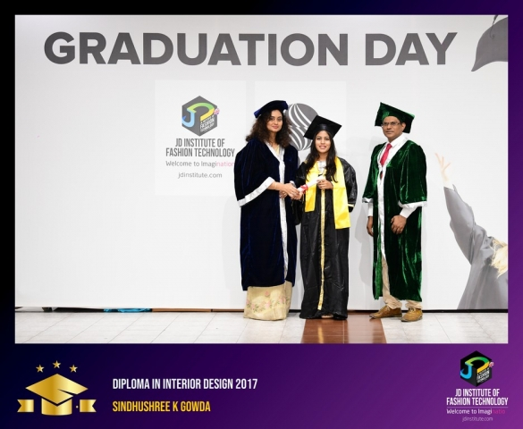 JD Institute Holds Graduation Ceremony for its Diploma and Post Graduate Students Diploma In Interior Design 54