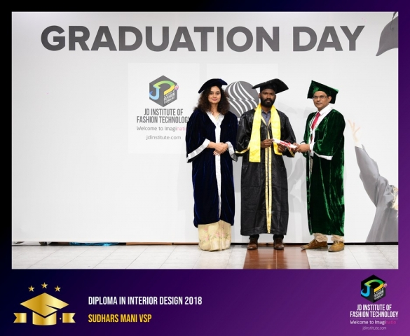 JD Institute Holds Graduation Ceremony for its Diploma and Post Graduate Students Diploma In Interior Design 55
