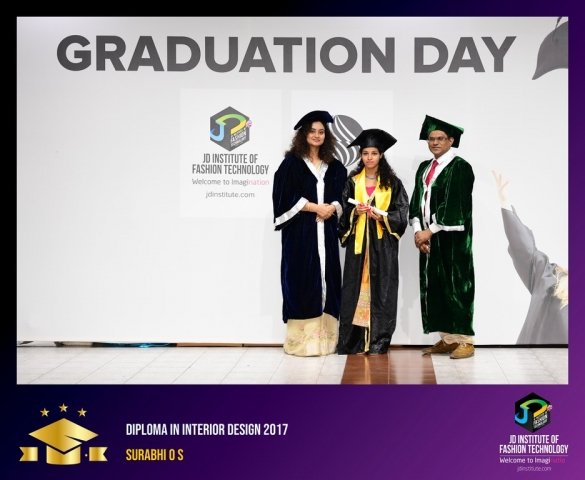 JD Institute Holds Graduation Ceremony for its Diploma and Post Graduate Students Diploma In Interior Design 56