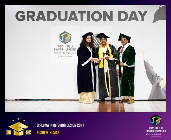 JD Institute Holds Graduation Ceremony for its Diploma and Post Graduate Students Diploma In Interior Design 57